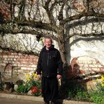 Dad happy out at brookhall
