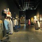 Зал с коллекцией платьев
