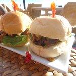 Bar Snack at Ariels House ( Pork Sliders)