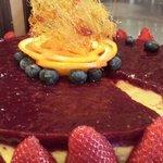 bavarese a i frutti di bosco del nostro Chef Pasticcere Andrea