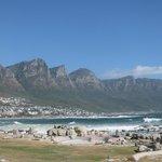 View towards Camps Bay & the Twelve Apostoles