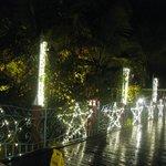 illuminations de noël:au théâtre