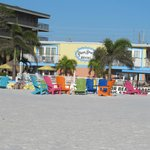 Plaza Beach view from Gulf of Mexico
