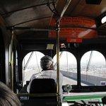 Inside Jim's Trolley