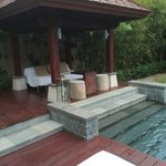 Nice area for chill out by the pool