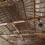 Traditional roof weaving... incredible!