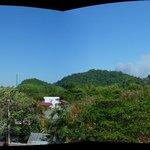 ons balkon uitzicht