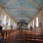 The interior of Lazi Church