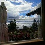 Hermosa vista al lago Nahuel Huapi