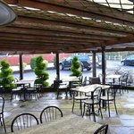 Our outside tables,Great summer Lunch or Dinner area