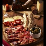 Tabla of jamon and quesos