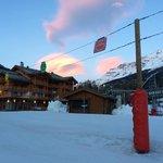 Chalets de Flambeau, chairlift, ski school