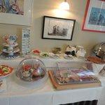 Шведский стол - завтрак