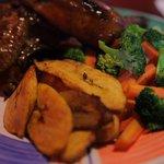 Chicken & Pantain