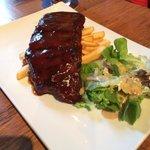 BBQ baby pork ribs
