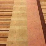 Tired carpet