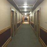 Dingy hallways