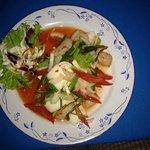 Meeresfrüchtesalat mit Chili