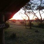 Sunrise at Ikoma.