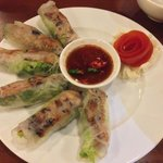 Meat spring roll