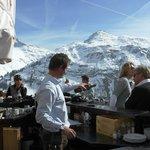 Goldener Berg terrace