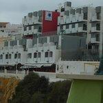 Hotel von Strandseite gesehen