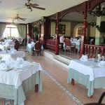 Main dining area, amazing view and amazing food.