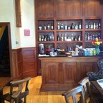The coffee lounge and honesty bar