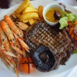 Luxurious surf & turf