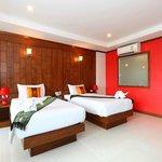 Room Deluxe twin bed