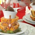 amazing cocoa dessert