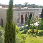 Notre suite vue du toit terrasse