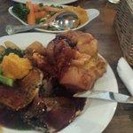Beef and Pork sunday roast
