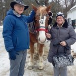 Read Cathy & Bob after sleigh ride