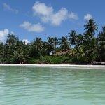 Superbe plage de l'hôtel - Anse Volbert