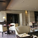 Avanti Italian restaurant where breakfast is served in the Pacific Club wing