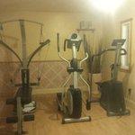 Petite salle d'exercice