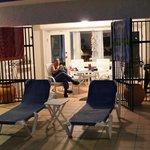 Our Villa #5 lanai at night