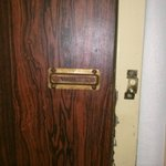 no lock on door