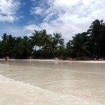 Paradisiaque plage de l'hôtel