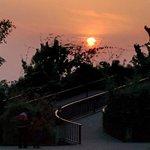 Sun set at Aahna