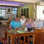 Petite déjeuner en famille