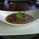 Wild mushroom risotta