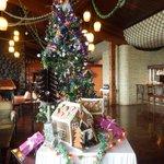 Hotel Lobby, Christmas Day