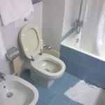 bagno stanza 104