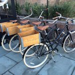 Bikes that are loaned to guests