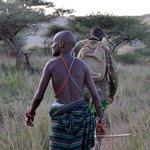 My guides on a walking safari