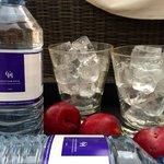 Poolside refreshments
