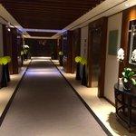 Lift lobby by retreat spa