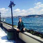 garden Bosporus view